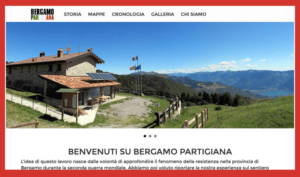Bergamo Partigiana, il sito degli studenti del Marconi