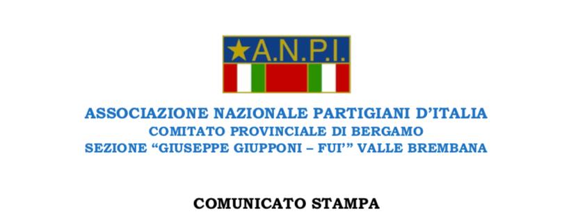 Comunicato Stampa: danneggiamento sentiero partigiano Paganoni – Vitali