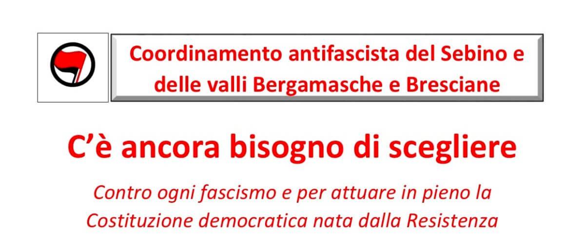 Manifestazione del 26 maggio a Lovere
