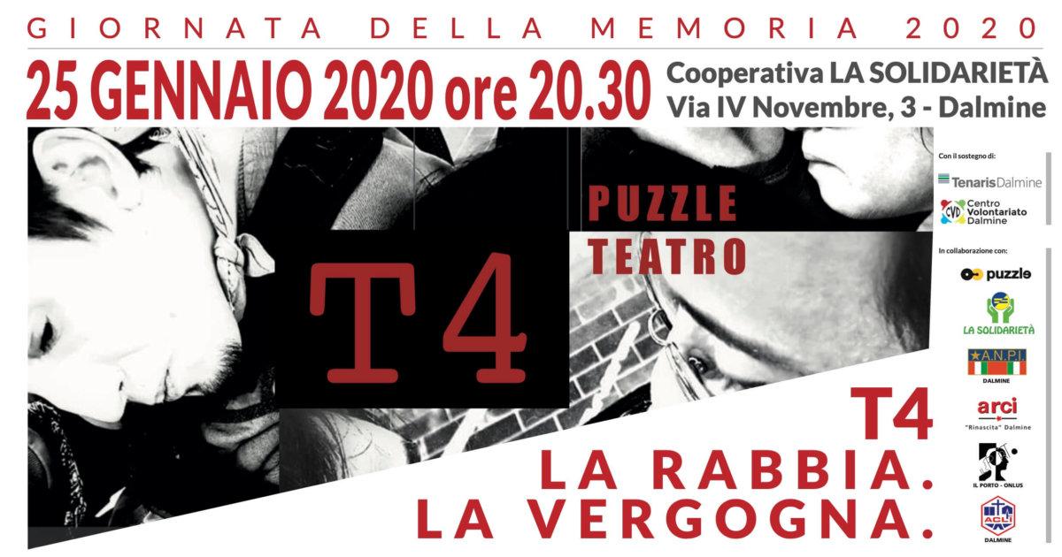 Giornata della Memoria a Teatro